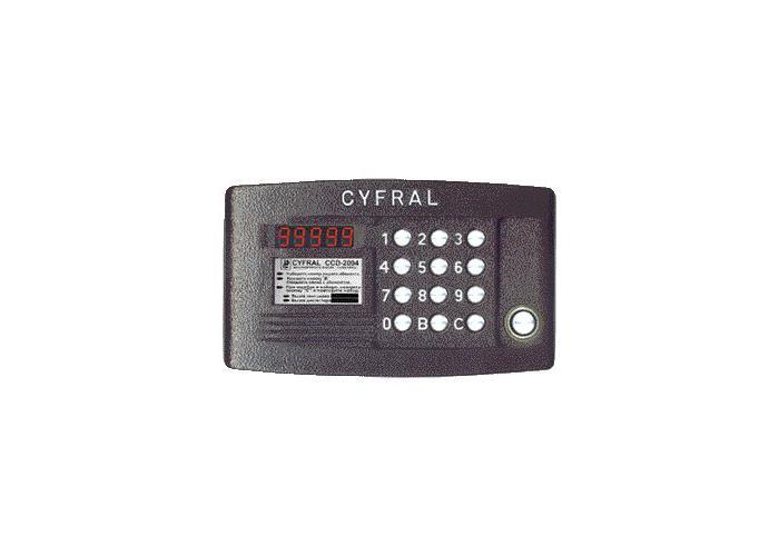 B Домофоны/b домофоны cyfral ccd/b-2094.и - купить.